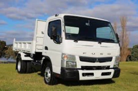 ideal size tipper delivery truck for garden supplies business in mordialloc melbourne