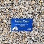 7mm-small-river-pebbles with a boundary rd mordialloc, melbourne garden supplies business card showing