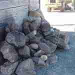 large landscaping garden rocks at a mordialloc, melbourne garden supplies business