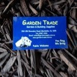 coloured black mulch near me with a mordialloc, garden supplies, melbourne business card