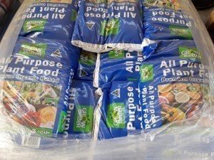 bags of fertilisers ,garden supplies ideal for garden landscaping in melbourne