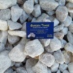 large-white-ice river pebbles at an ideal garden supplies business near me