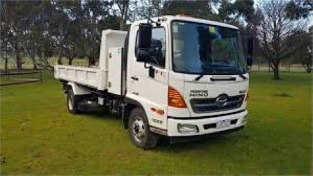 medium sized delivery tipper for garden supplies in mordialloc, melbourne