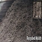 bulk bin of ideal moisture mulch at a melbourne garden supplies business in mordialloc