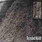 bulk bin of ideal moisture mulch at a melbourne garden supplies business in mordialloc