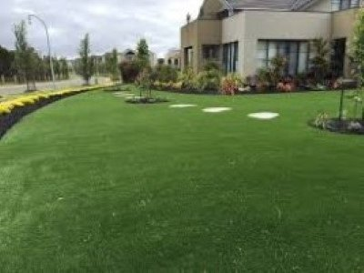 artificial grass at a mordialloc garden supplies business in melbourne